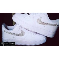 Tênis Nike Air Force Swarovski