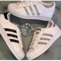 Tênis Adidas Super Star Swarovski